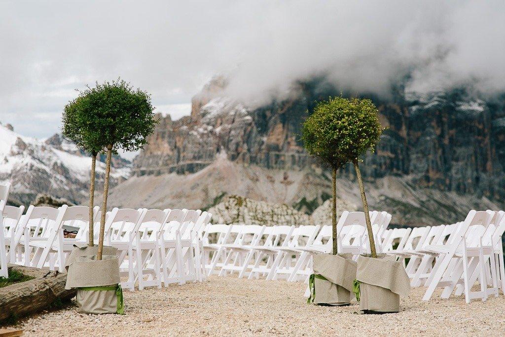 matrimonio Averau cortina