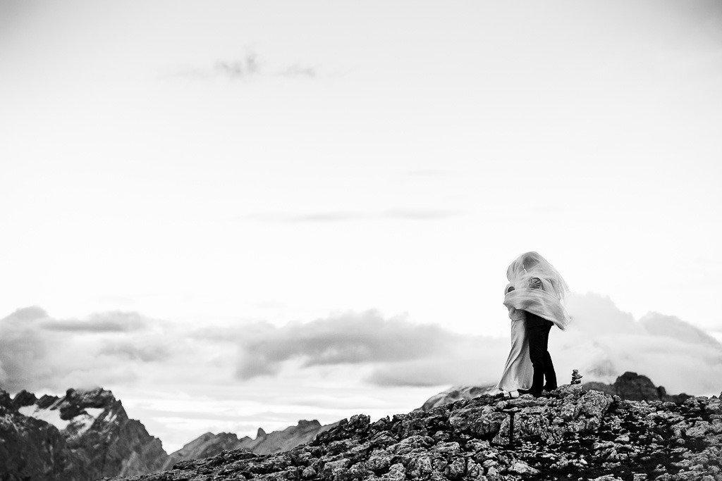 Matrimonio Cortina d'Ampezzo Rifugio Averau