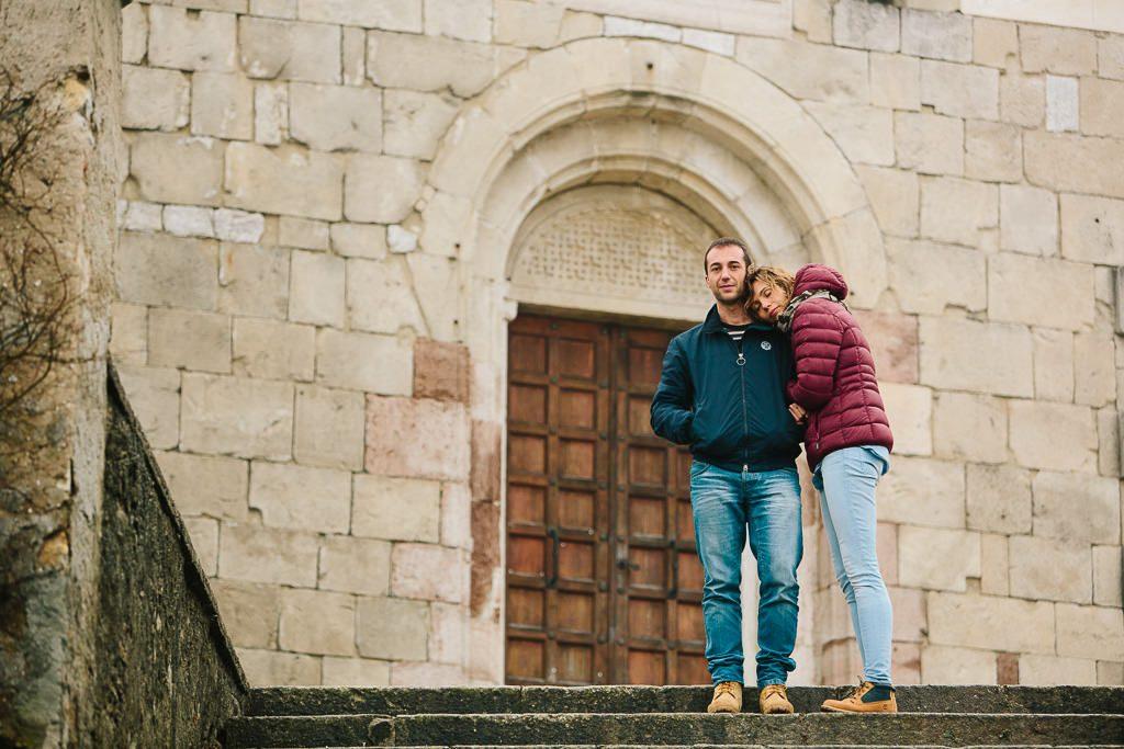 coppia al santuario di Anzù