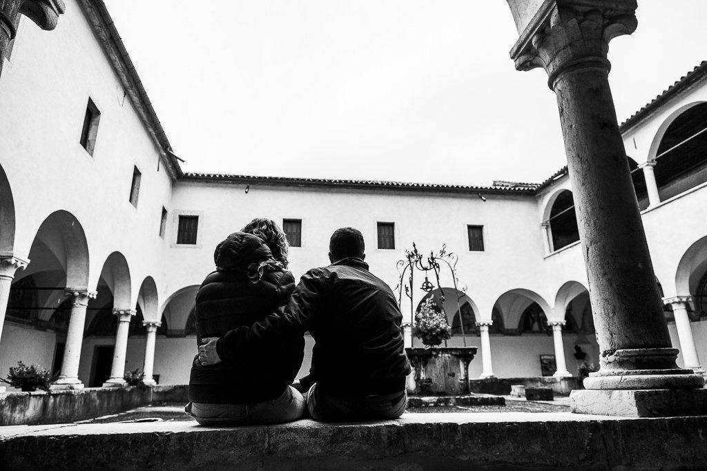 prematrimoniale al santuario di Anzù