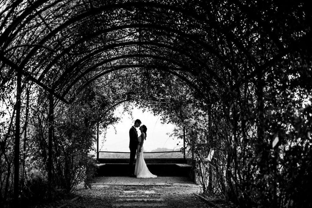Sposi in bianco e nero a Belluno