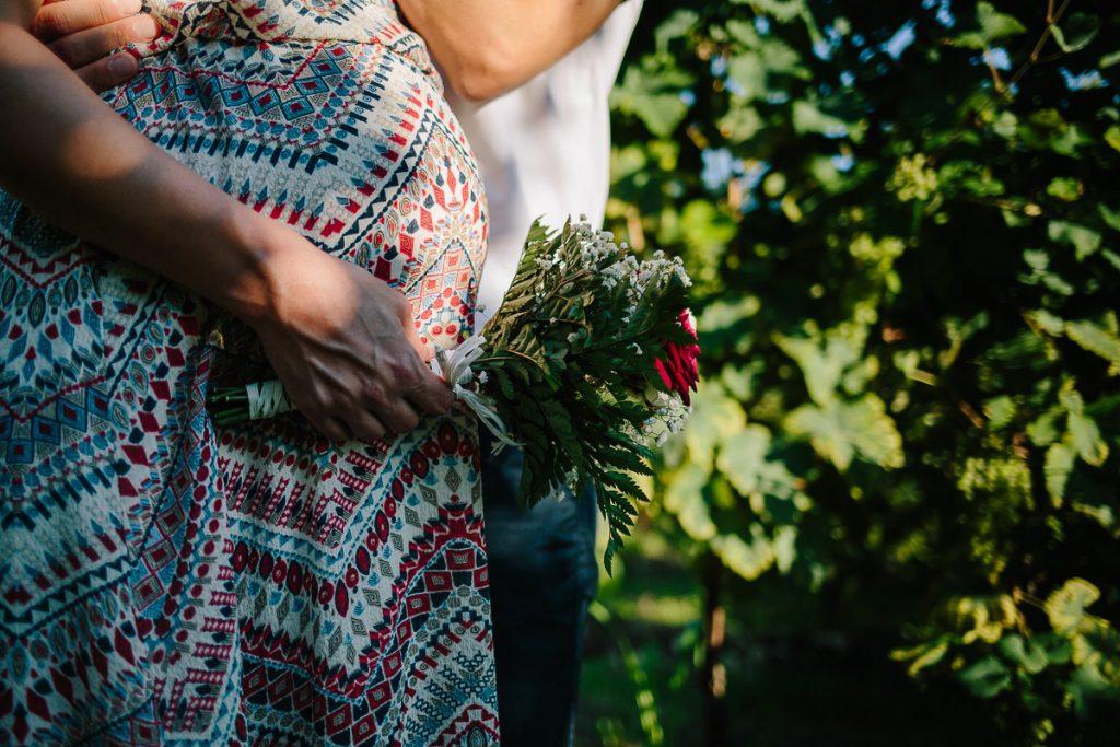 mazzo di fiori maternity