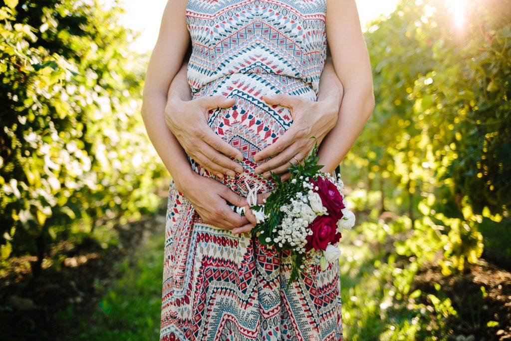 maternity nella natura