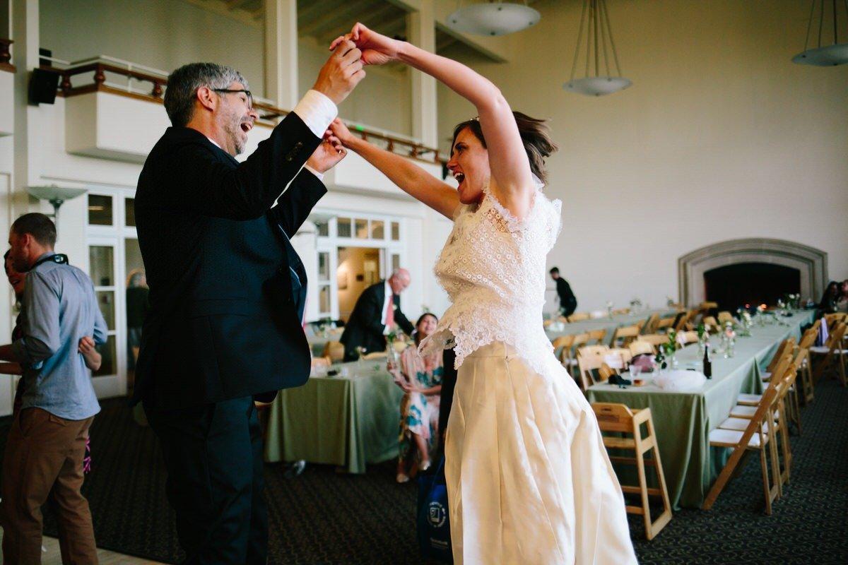 balli sfrenati durante il matrimonio