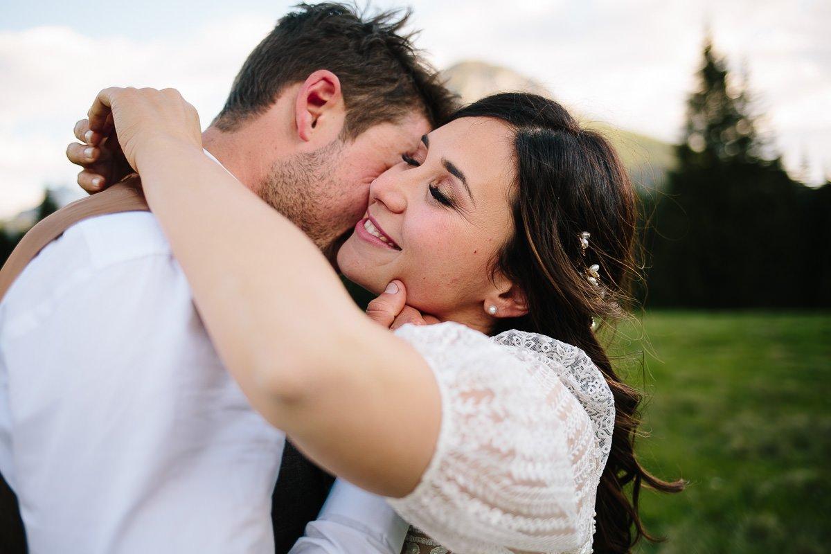 matrimonio sulle dolomiti in Val visdende