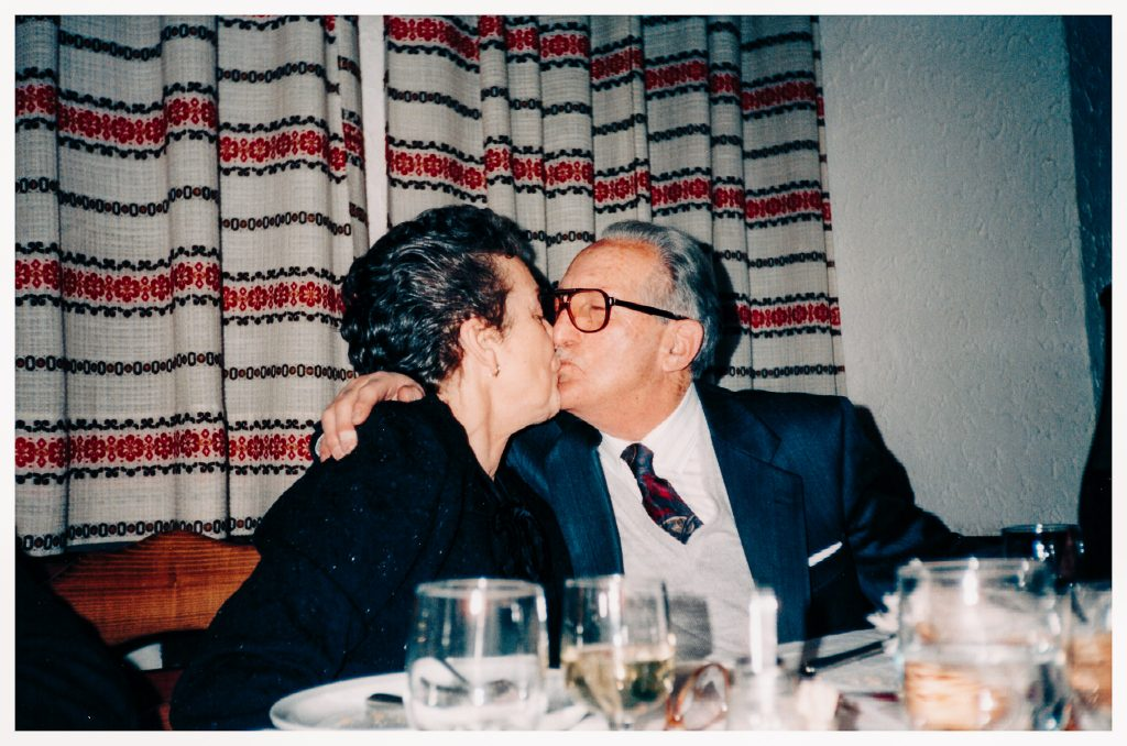 i miei nonni negli anno 90