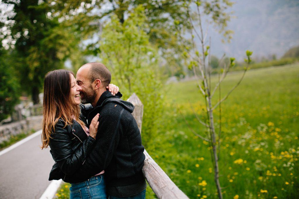 Engagement in Alto Adige A Glorenza