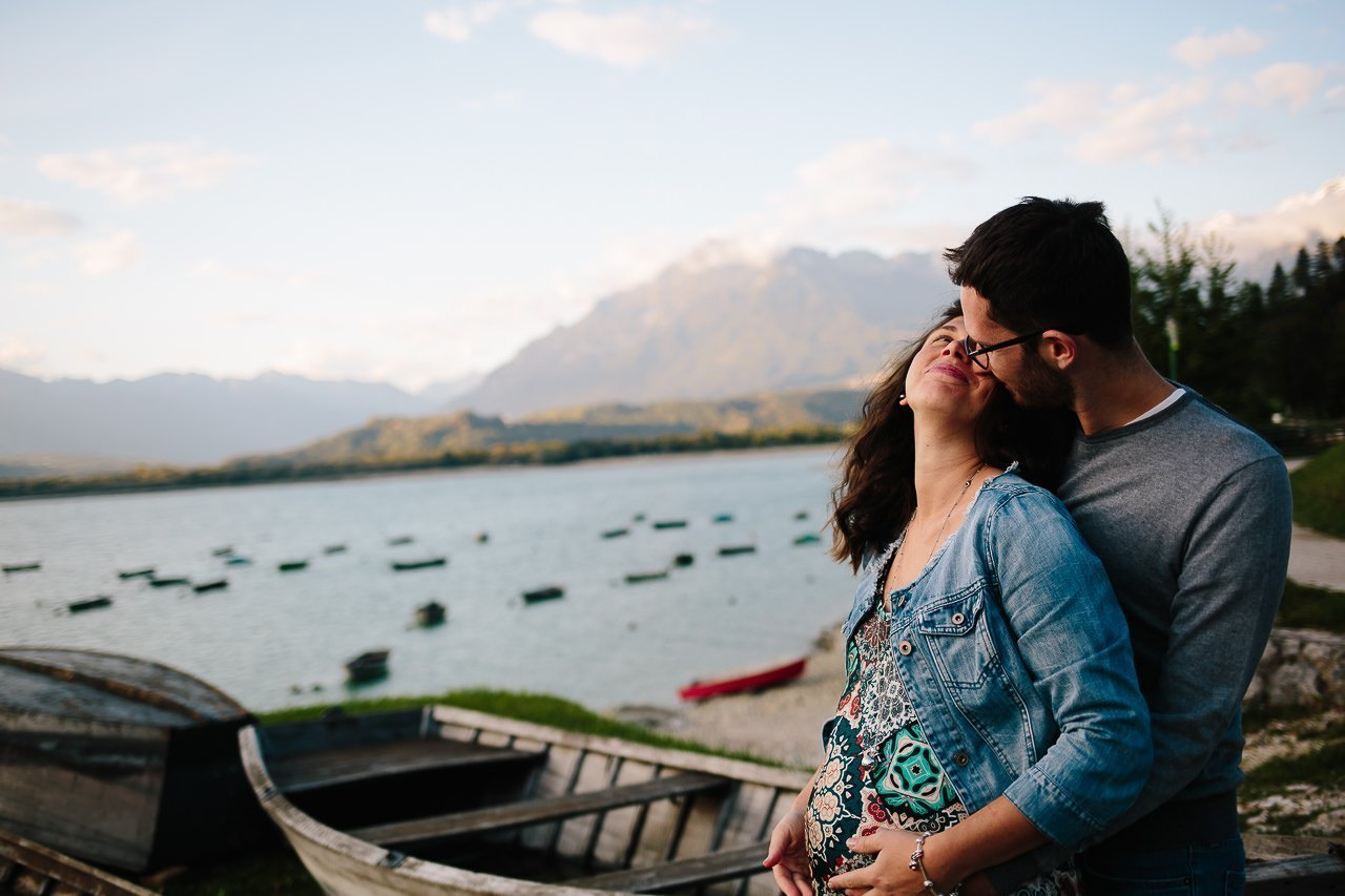 Maternity autunnale al lago