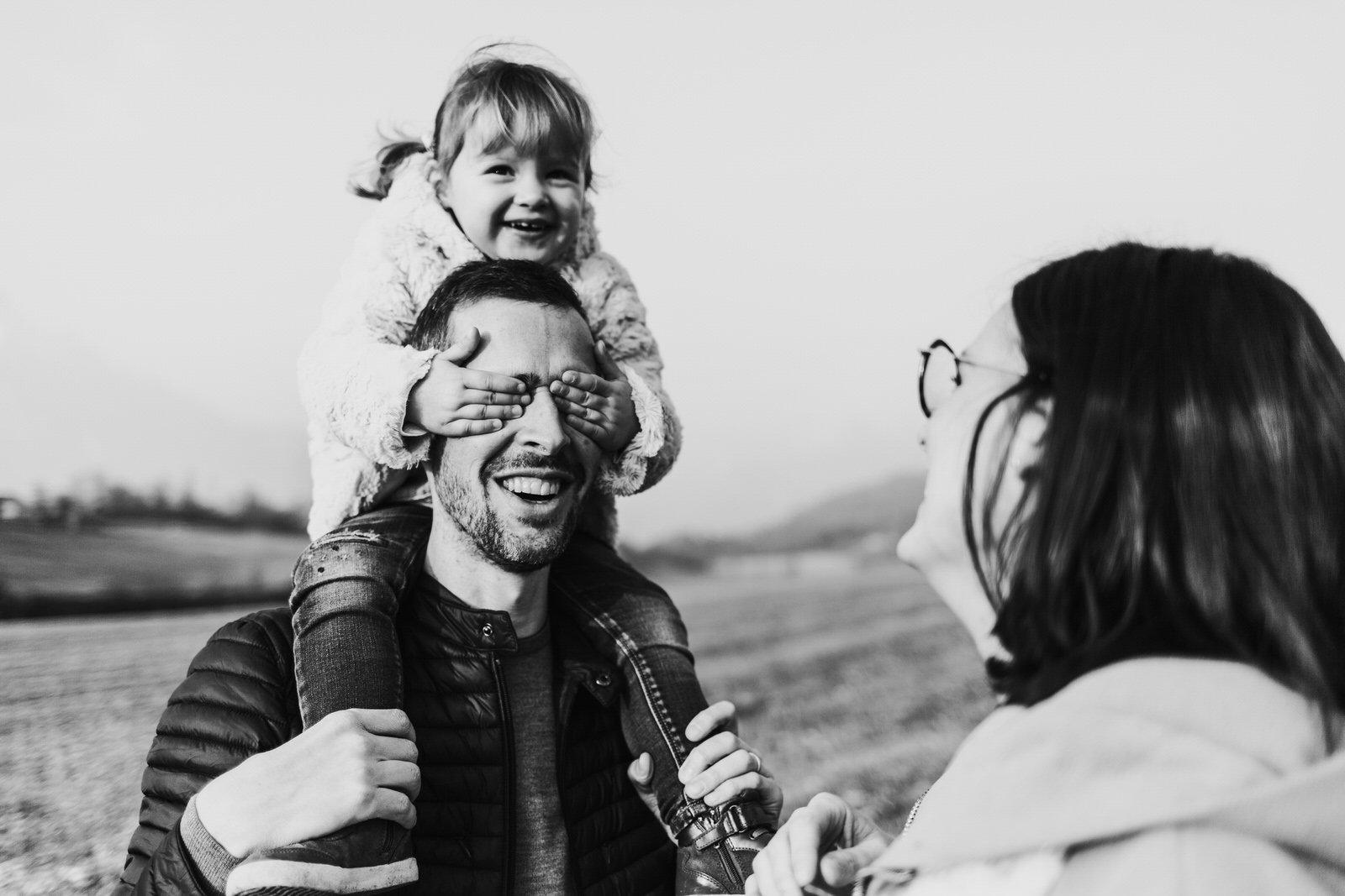 Servizio fotografico di famiglia
